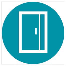 Portes d'entrée PVC, bois et alu Nevers