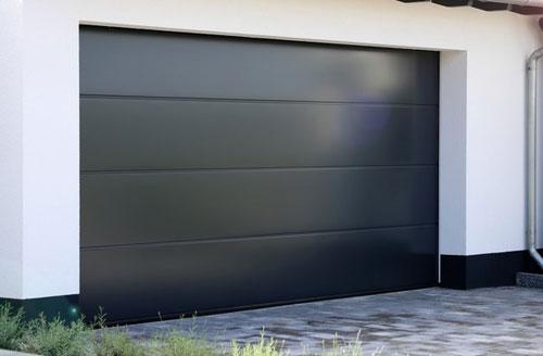 Les portes de garage sectionnelles ou latérales